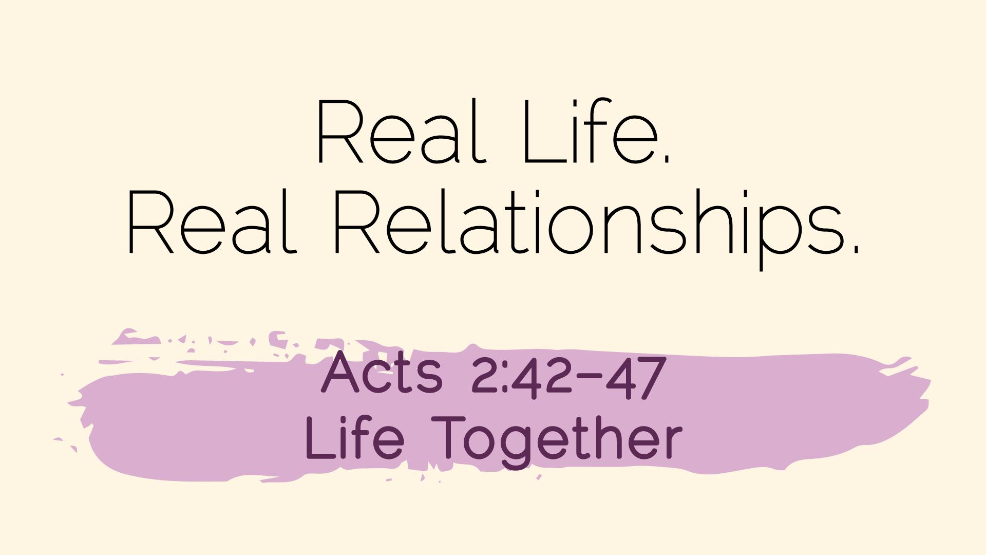 Real Life Feb14